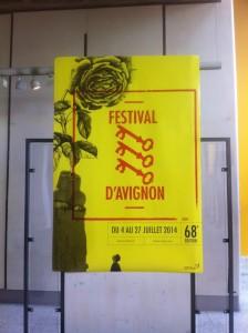 affiche avignon 2014