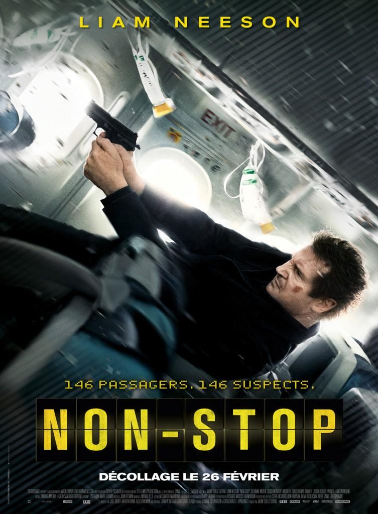 [Critique] « Non Stop » Du grand, du pur, du caviar, de l'extase de film du dimanche soir featuring son maître absolu Liam Neeson