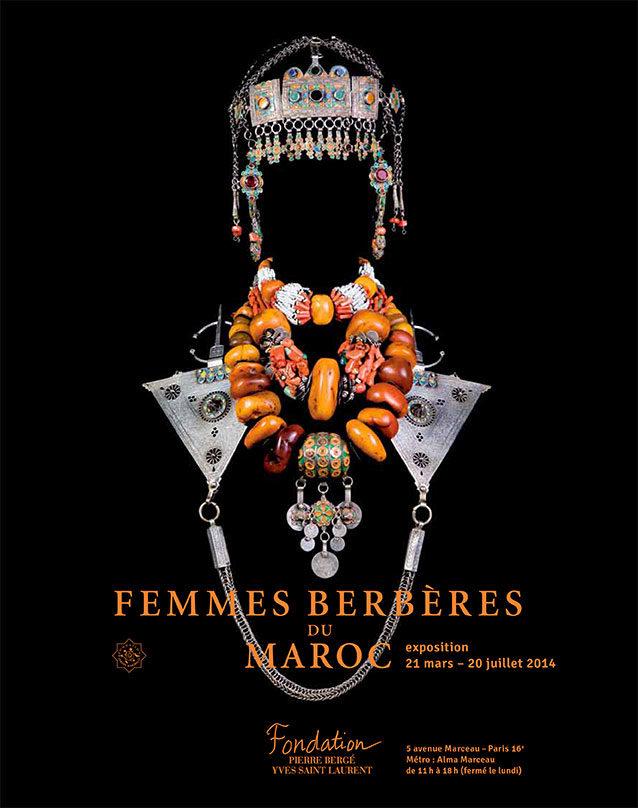 Un hommage au travail d'YSL à travers les «Femmes berbères du Maroc»