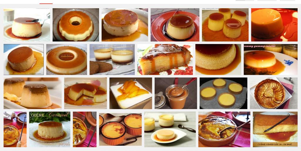 La recette de Claude : crème caramélisée