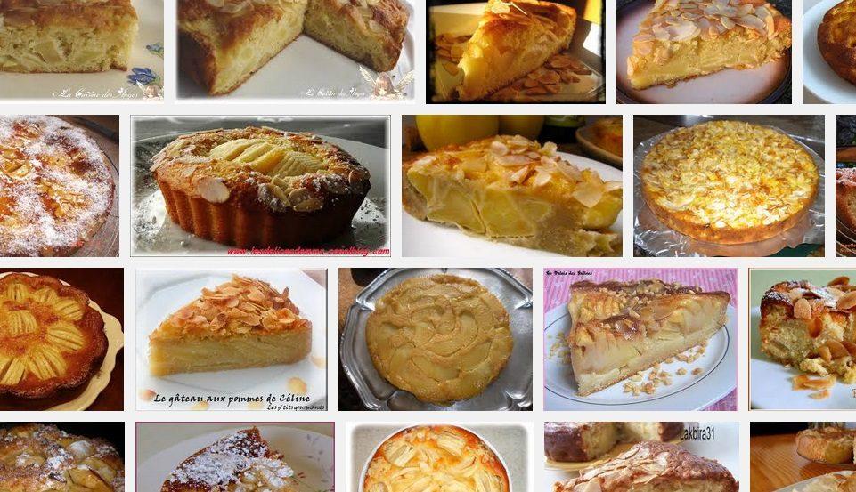 La recette de Claude : Gâteau aux pommes et aux amandes
