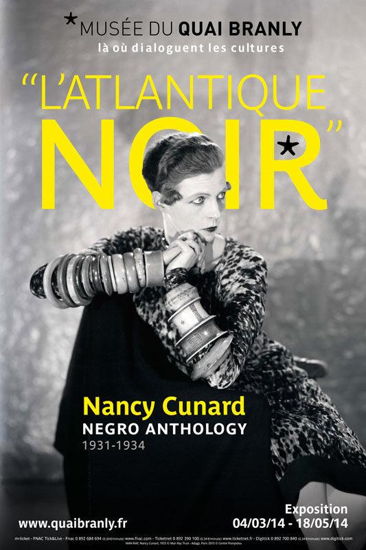 Nancy Cunard, portrait d'une femme d'avant-garde au Musée du Quai Branly