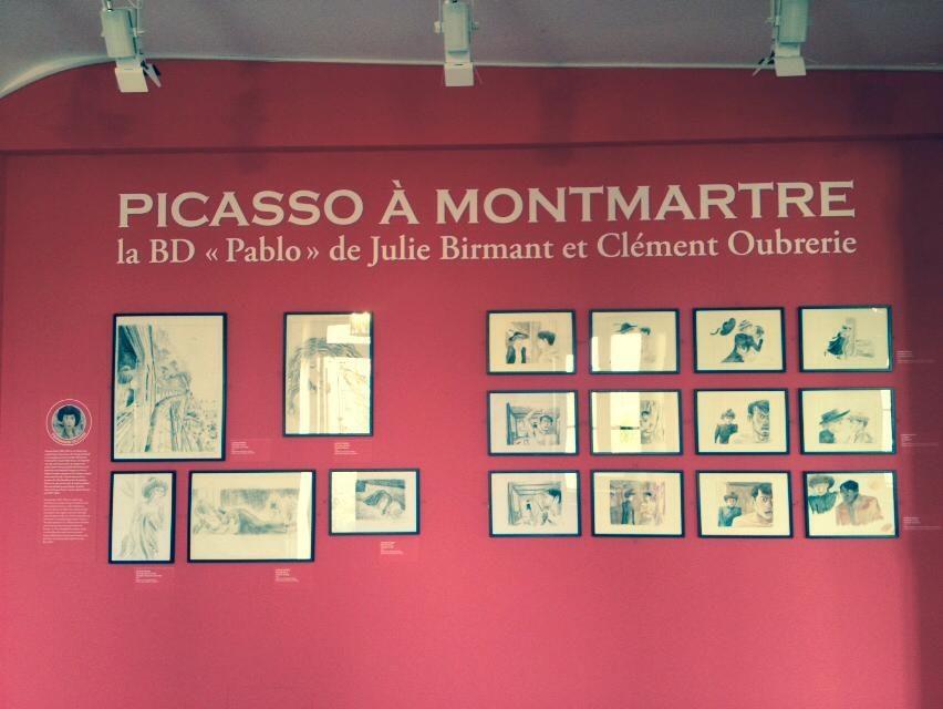 Pablo, la tétralogie dessinée de Julie Birmant et Clément Oubrerie célébrée au Musée de Montmartre