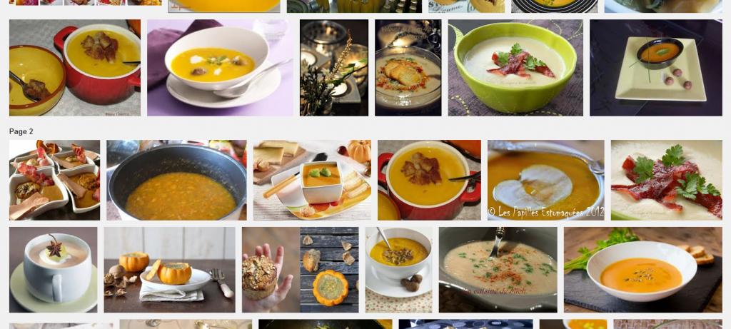 La recette de Claude : soupe de potiron et celeri aux marrons
