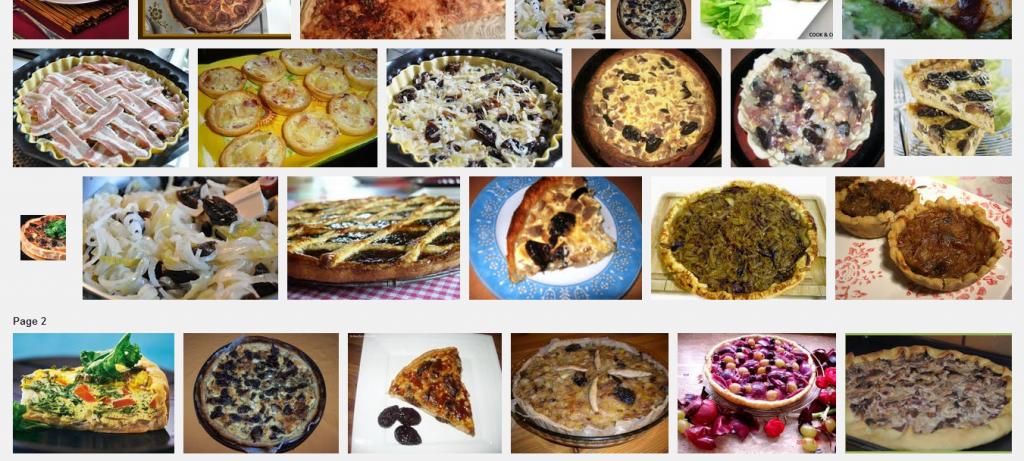 La recette de Claude : tarte aux oignons et pruneaux