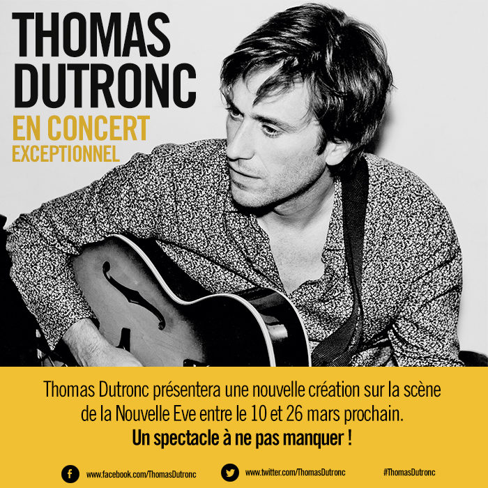 [Live report] Thomas Dutronc invite son public à participer à un boeuf tendre à la Nouvelle-Eve