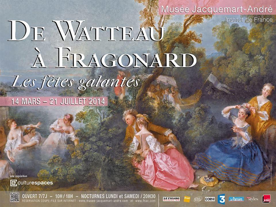 De Watteau à Fragonard : Les fêtes galantes s'exposent au Musée Jacquemart-André