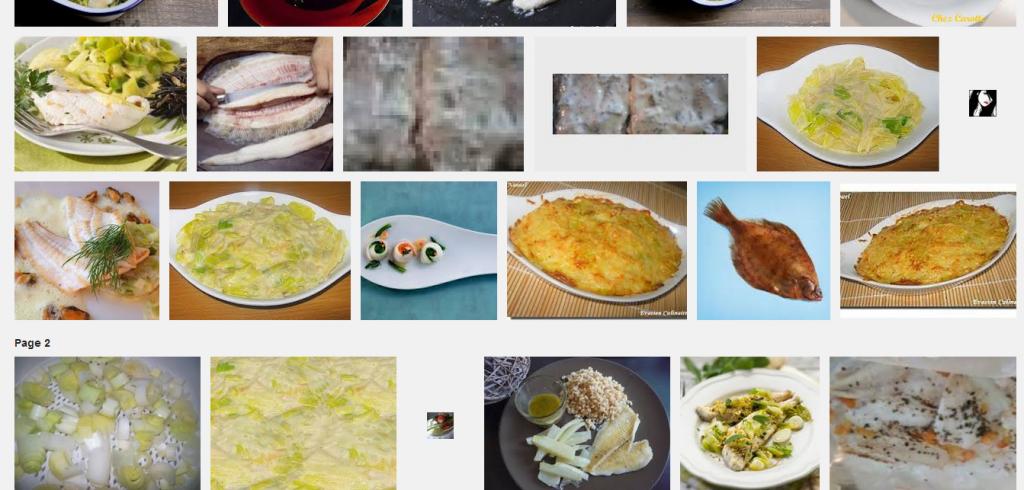 La recette de Claude : Filets de limande à la fondue de poireaux