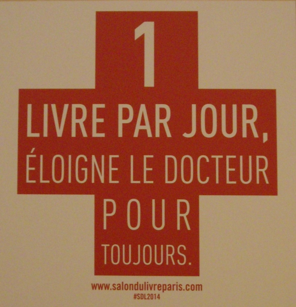 [lLve report] Salon du livre de Paris 2014