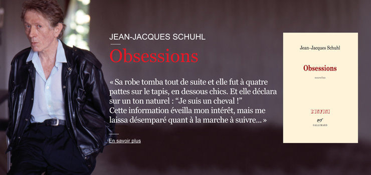 « Obsessions », Jean-Jacques Schuhl se montre de profil, en dandy international
