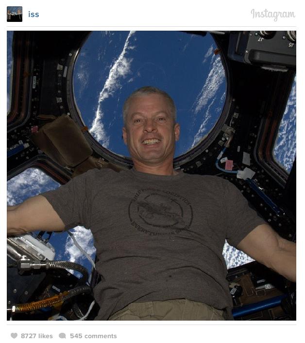 L'ISS s'occupe de la Toile