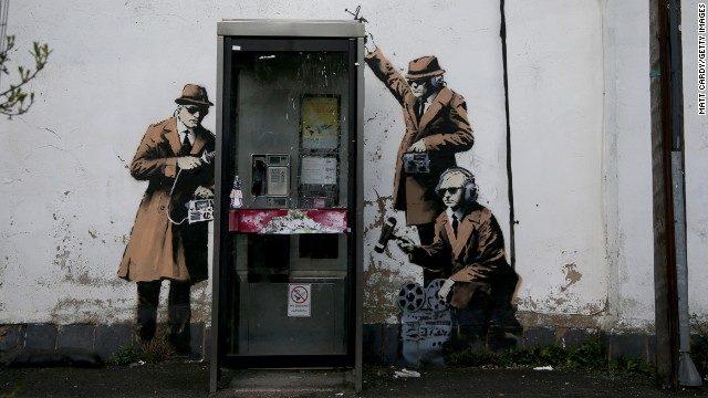 Une nouvelle œuvre de Banksy… pour la liberté