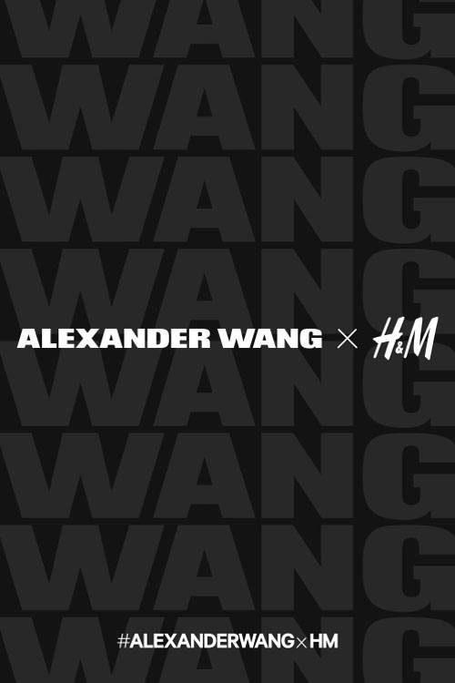 Alexander Wang signe une collection capsule pour H&M