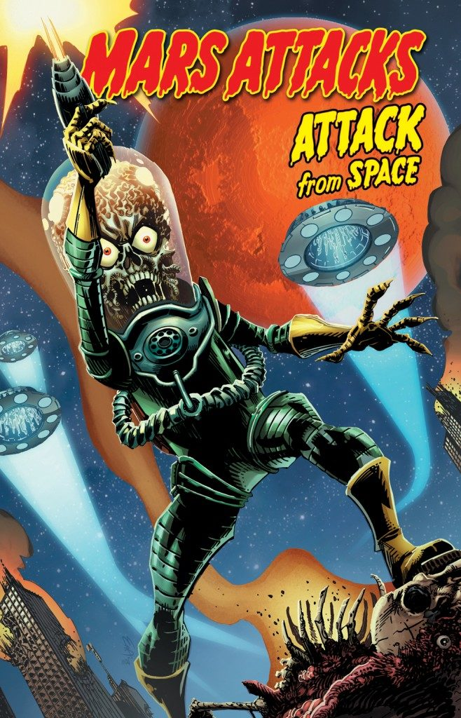 «Mars Attack Tome 1: Attack from Space» : Premier contact