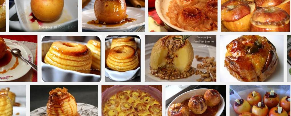 La recette de Claude : Pommes au four