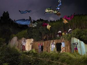 Les couleurs dans le ciel d'une communauté de femmes, Lac Kivu, Rwanda, 2012 © Nicolas Henry
