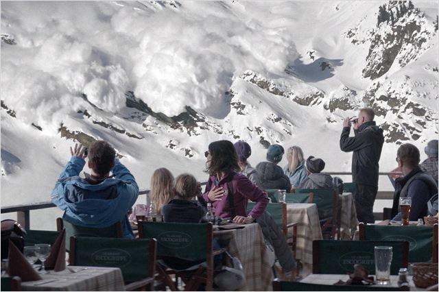 [Cannes, Un certain regard] « Force majeure »: les avalanches suédoises sont meurtrières