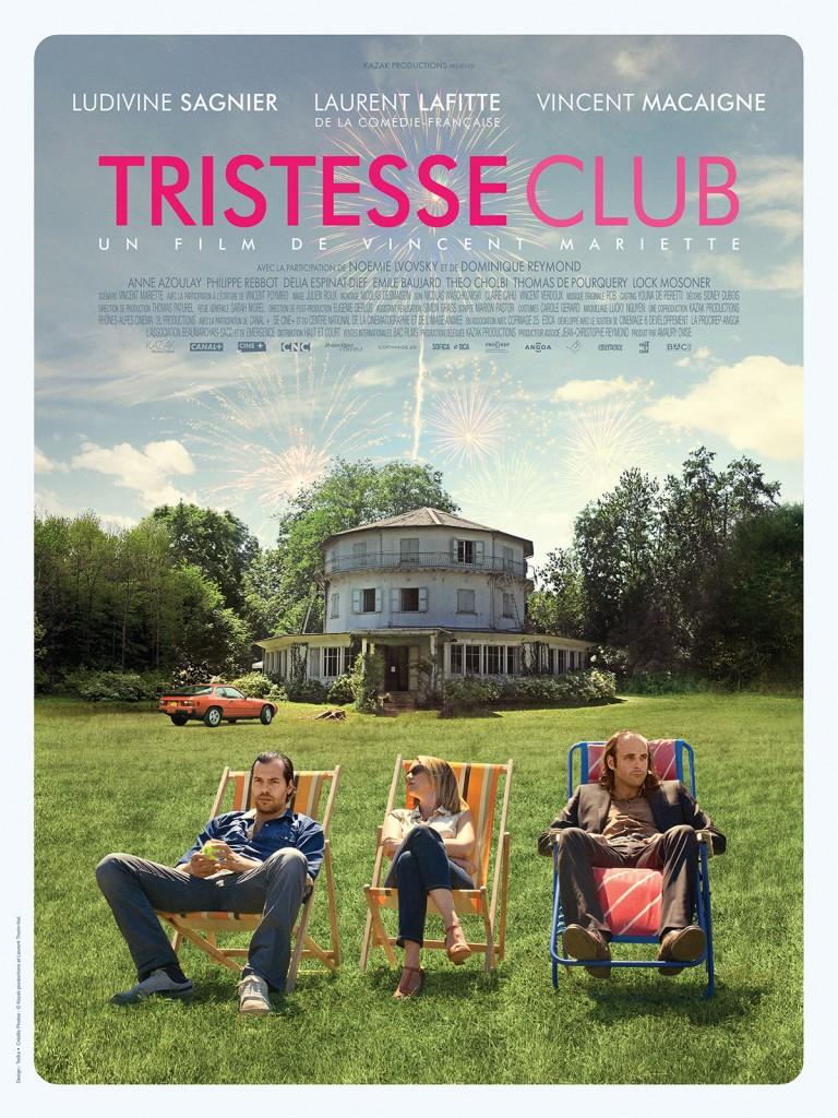 [Critique] «Tristesse Club», les douces séductions de la tristesse avec Vincent Macaigne, Laurent Lafitte et Ludivine Sagnier