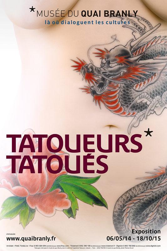 Tatoueurs Tatoués* au Quai Branly