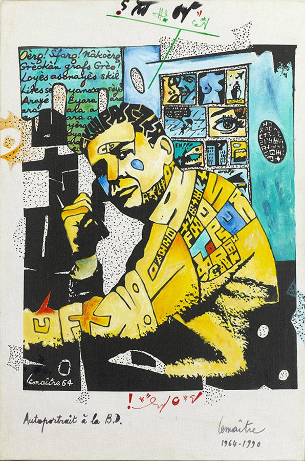Derniers jours : Maurice Lemaître à la galerie Patrice Trigano