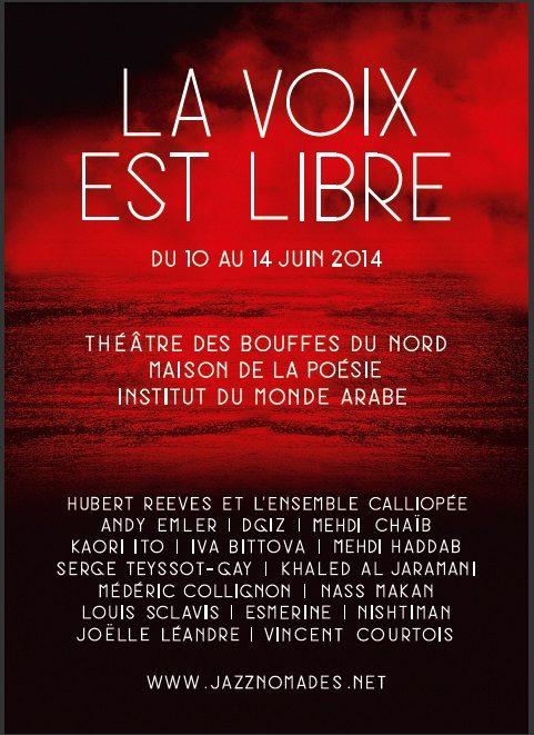 Gagnez 5 albums de Nishtiman dans le cadre du festival «La Voix est Libre» du 10 au 14 Juin