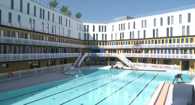 Piscine molitor 13 000m pour un millier de fortun s for Clamart piscine