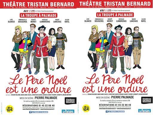 Palmade remet «Le Père Noël est une ordure» en scène au Théâtre Tristan Bernard