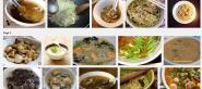 soupe de champignons chinois   Recherche Google