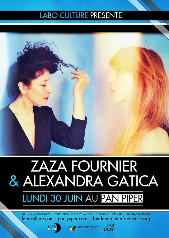 [Interview] Zaza Fournier et Alexandra Gatica : « C'est une espèce de colocation pour la soirée ! »