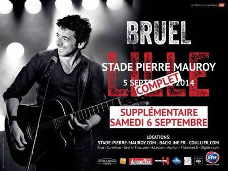 Patrick Bruel en guest star de la Braderie de Lille