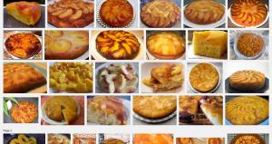 Gâteau renversé aux pêches Recherche Google