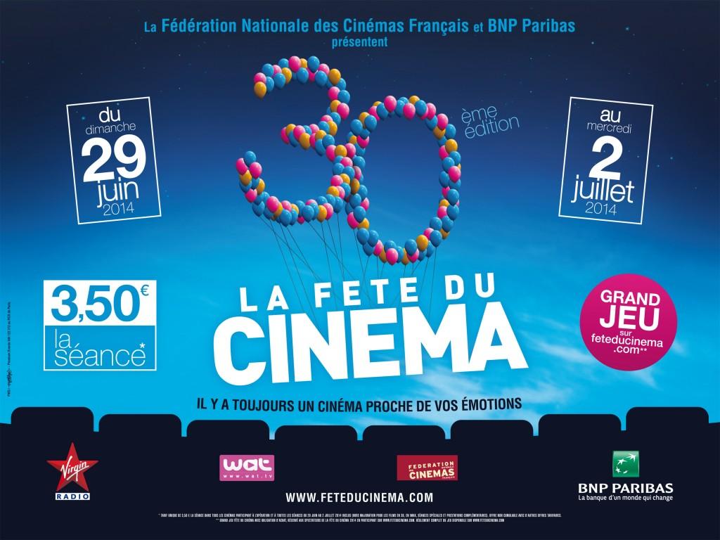 Réussir sa Fête du Cinéma 2014 : Mode d'emploi, programme et sélection des films à voir !