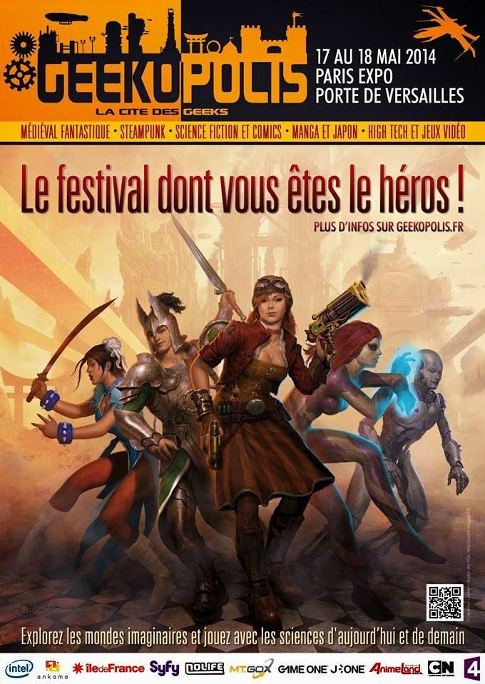 Geekopolis seconde édition : le festival de la diversité
