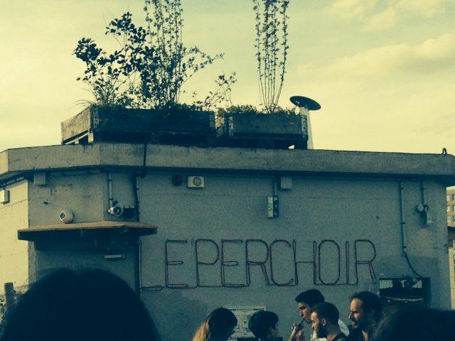 Le perchoir, la «it» terrasse de Menilmontant