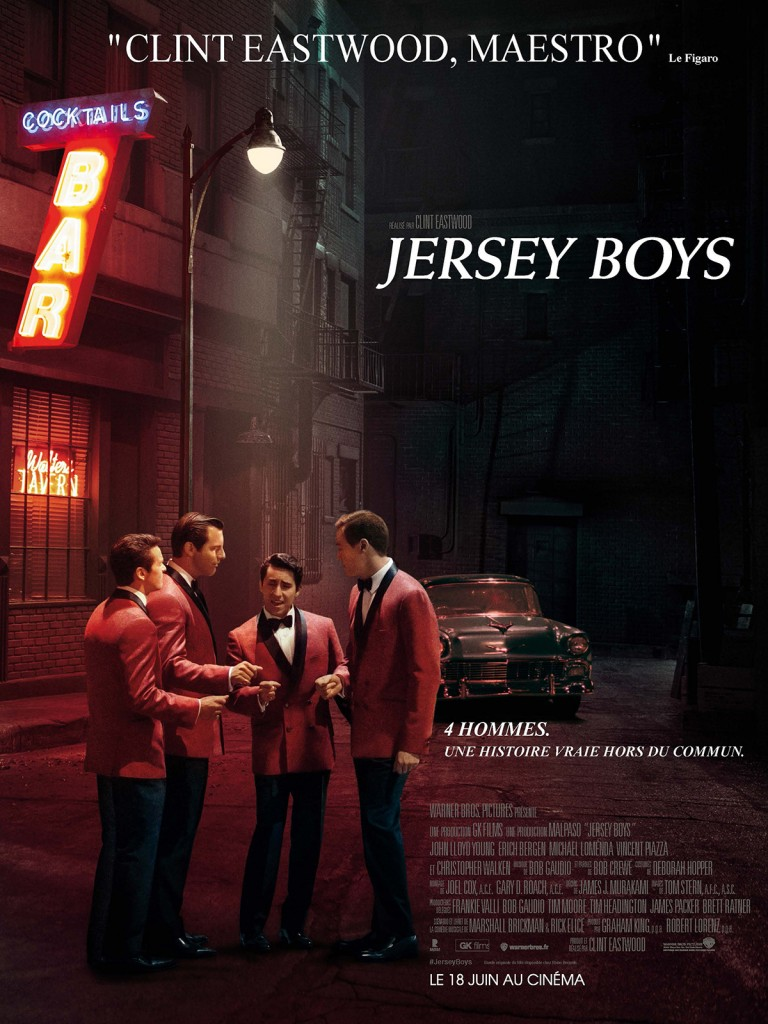 [Critique] « Jersey Boys » Biopic musical appliqué de Clint Eastwood sur un groupe culte des swinging sixties