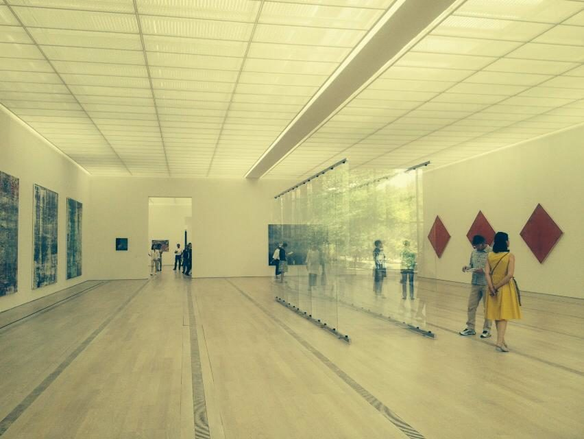 Gerhard Richter en séries à la Fondation Beyeler