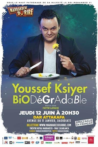 Youssef Ksiyer « L'humour est une affaire très sérieuse »