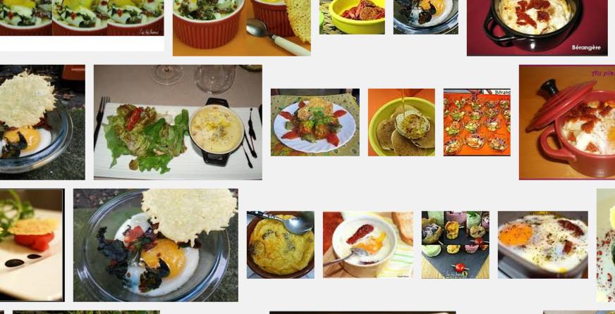 La recette de Claude : œuf cocotte, tomates séchées, chorizo et tuiles de parmesan
