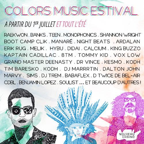 [Interview] « Le Colors Music Estival : fédérer les publics dans la convivialité et la bonne humeur »