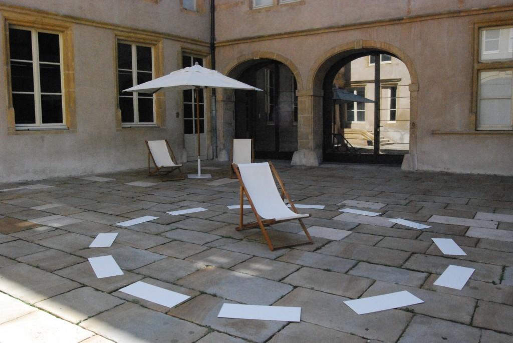 David Lamelas au FRAC Lorraine: quand l'art s'installe dans la vie