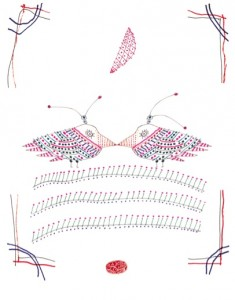 Birds, From the series of Lovely Drawings, 2014