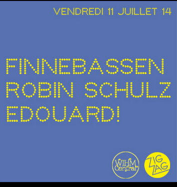 Gagnez 3×2 places pour Finnebassen et Robin Schulz au Zig Zag Club le 11 juillet