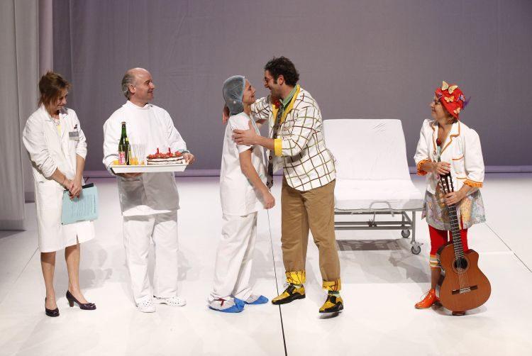 [Avignon Off] « Hors piste » : les clowns rencontrent l'hôpital. C'est un carton