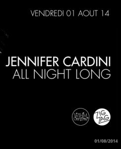 Jennifer Cardini Zig Zag Club