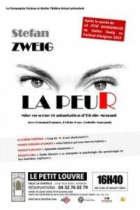 [Avignon Off] « La Peur » de Stefan Zweig : valse tendue et prenante