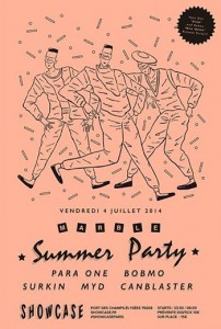 Marble Summer Party