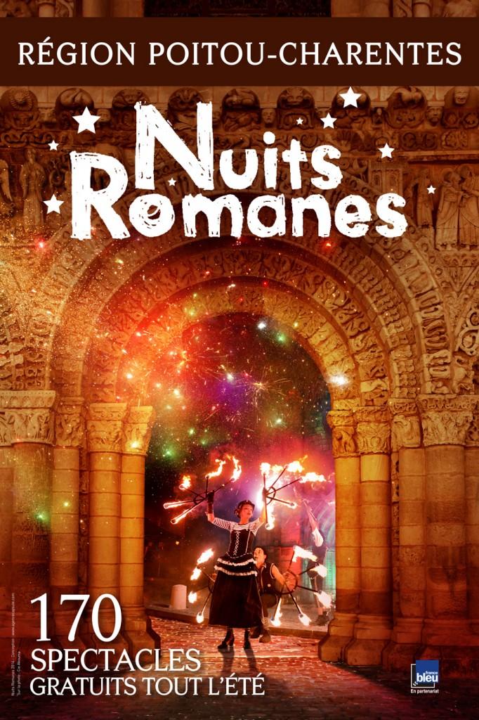 Un patrimoine millénaire mis en lumière par les nuits romanes de Poitou-Charente