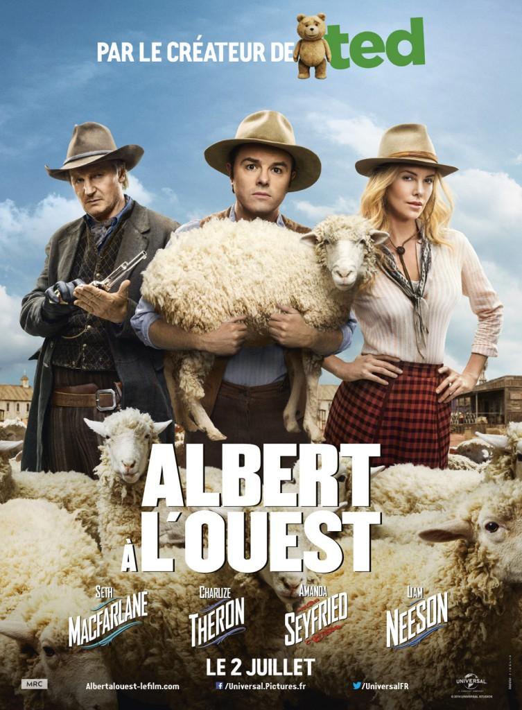 [Critique] « Albert à l'ouest » : McFarlane parodie le western. Mêmes qualités et défauts que Ted.