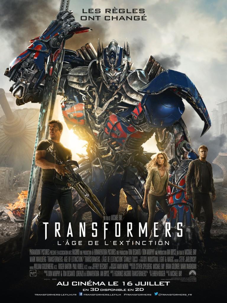 [Critique] « Transformers 4 L'âge de l'extinction » Long, bruyant, assommant. A éviter