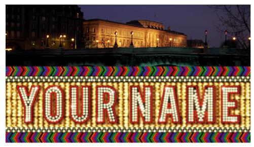 « Your name in lights » : pour la réouverture de la Monnaie de Paris, John Baldessari écrit votre nom sur la façade